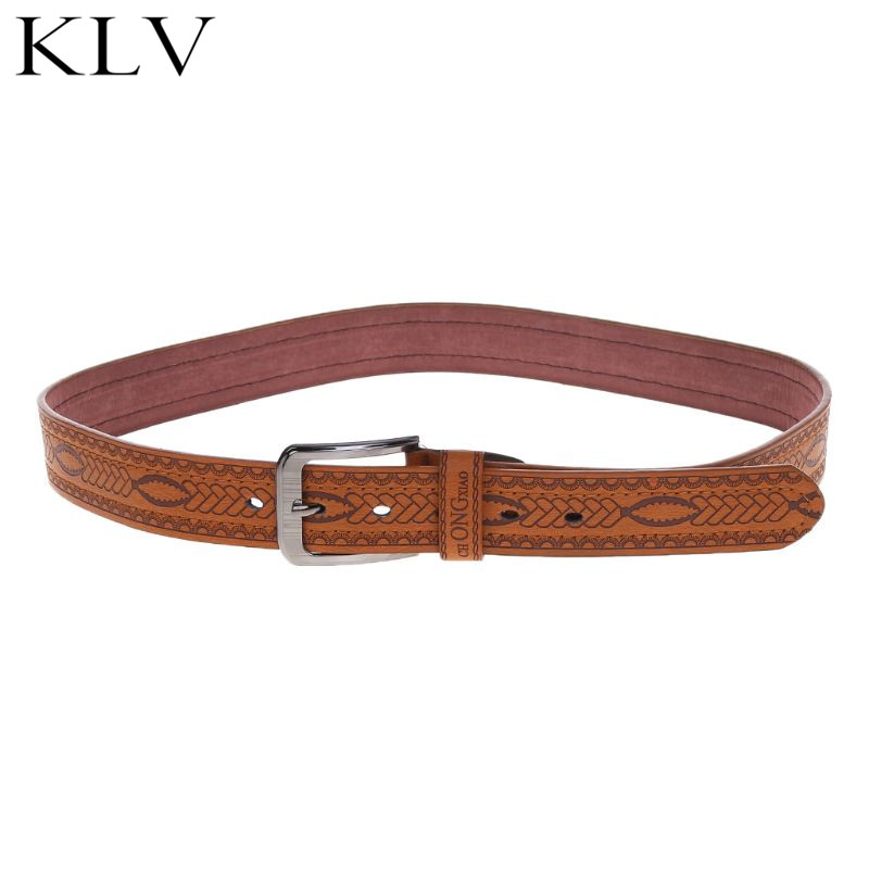 Fashion Men Belt Casual Pin Buckle Waist Strap Ethnic Customs Clothing Accessories Pants Elastic Band Belts Waistband in Men 39 s Belts from Apparel Accessories