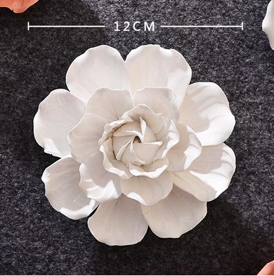 Wall Stickers Crafts, Camellia, Roses, Peony, Marriage ceremony Room Ornament, Christmas Presents