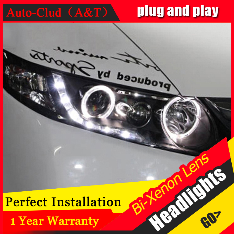 Auto Clud For Honda Civic led headlights xenon for Honda Civic 2006 2011 car styling LED