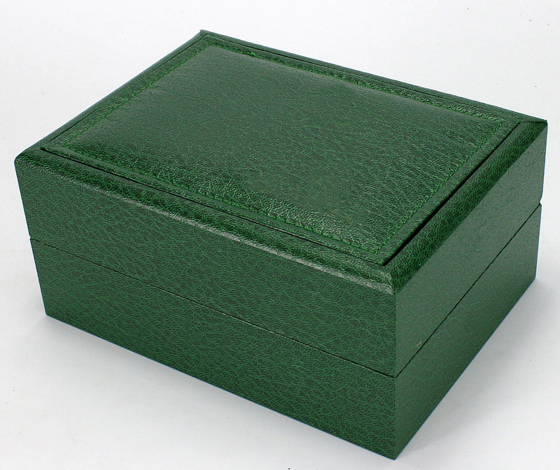2018 Watch Box Green Wooden Table Box Jewelry Gift Box Storage Organized caixa para relogio rectangle Watch storage display