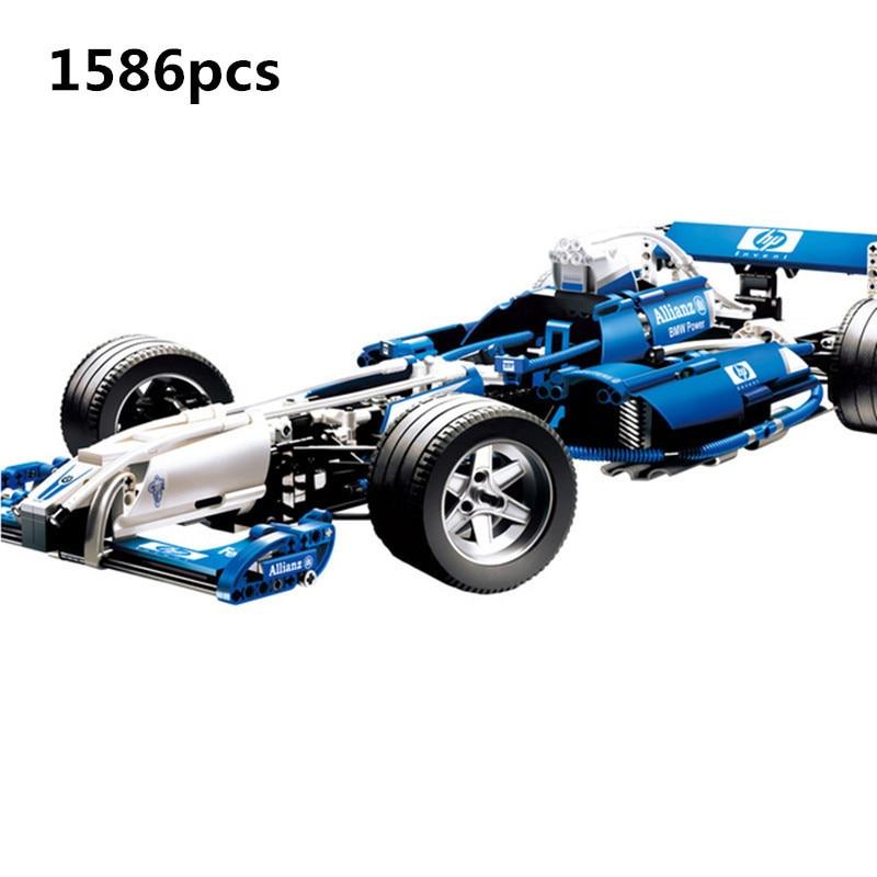 2018 20022 1586Pcs Genuine Technic Series The Williams F1 Team Racer Set Lepin Building Blocks Bricks Toy Model playmobil
