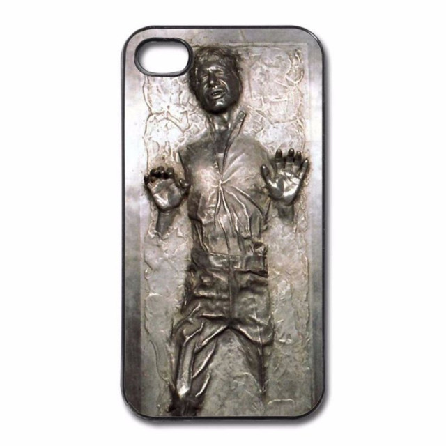 online retailer 1075e cf4e0 US $1.21 39% OFF|Star Wars Han Solo Frozen in Carbonite Cool Print Hard  Phone Cases for iphone SE 4 4S 5 5S 5C 6 6S Plus 7 7Plus 8 8Plus X-in Phone  ...