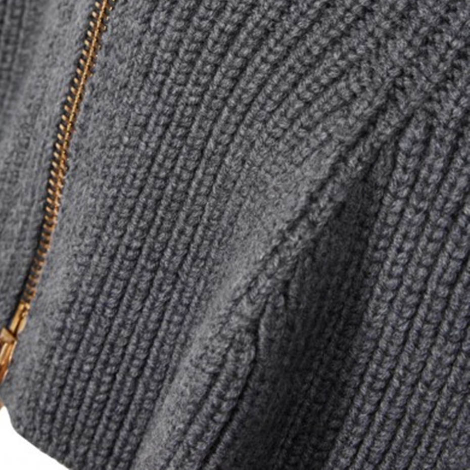 Women high street fall sexy slim solid sweater fashion wave ruched cardigans knitwear turtleneck casual plus size thick sweater