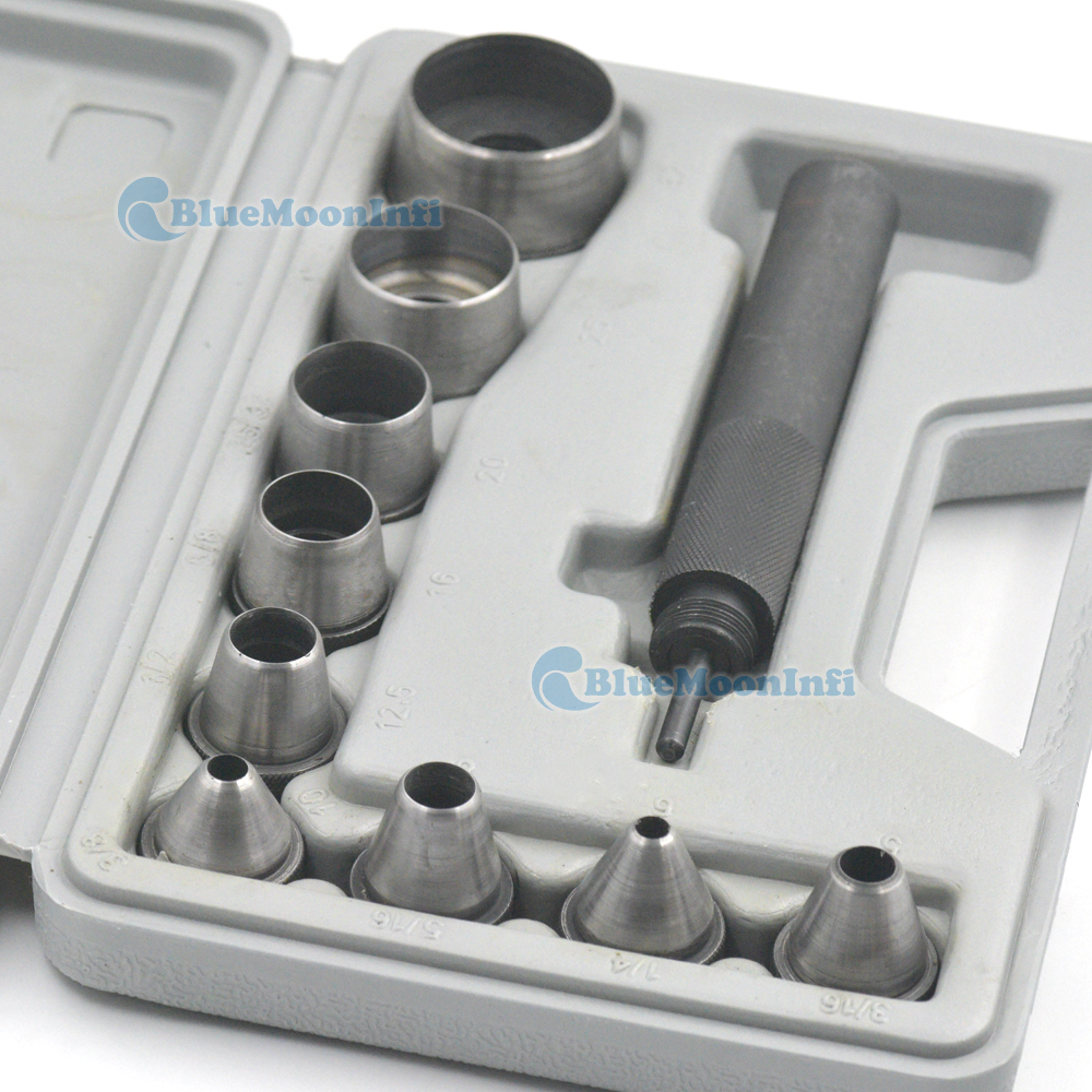 Leather Hollow Punch Steel Tool Big Hole Gasket Tools For Rubber 5mm to 32mm