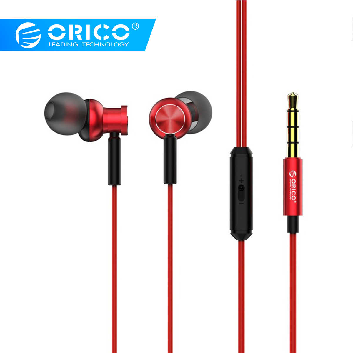 ORICO In-ear Earphone Bass Sound Sport Earphone Music Earbuds Stereo Gaming Earphone for Phone Xiaomi with Microphone