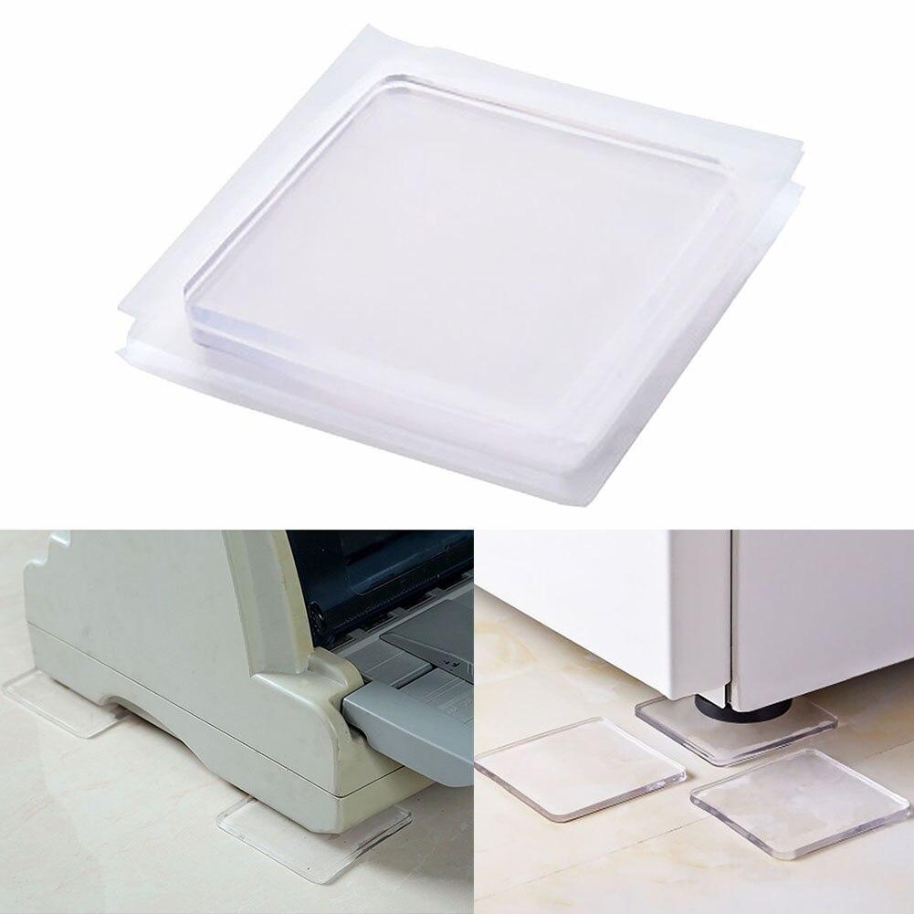 100pcs Noise Reducer Multifunctional Eva Foam Washing Machine Cushion Anti-vibration Shock Absorbent Pads Refrigerator Mats Freezer Parts Home Appliance Parts