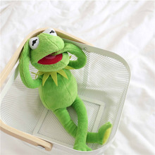 Hot Sale 40cm Kermit Plush Toys Sesame Street  frogs Doll Stuffed Animal Kermit Toy Dropshipping Holiday Gifts For Kids
