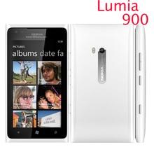 Nokia Lumia 900 разблокирована оригинальный мобильный телефон 3 г/м² WI-FI GPS 8MP 16 ГБ памяти Окна OS Восстановленное 1 годовая гарантия