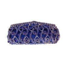 Africa Bridal Hard Case Metal Box Clutch Purse Night Clutch Bags for Women Wedding Prom Dinner
