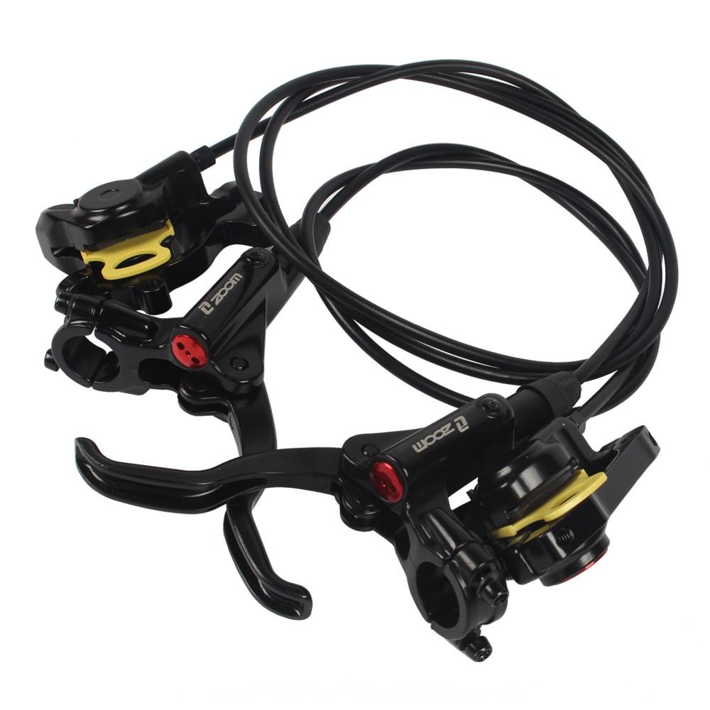 2 pièces vélo frein route vélo vtt hydraulique frein à disque huile frein ensemble pince vtt freins