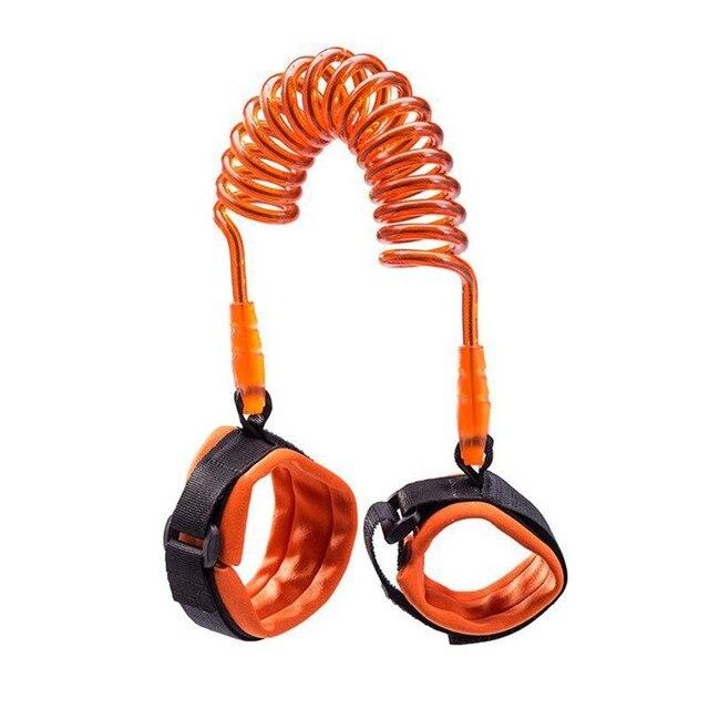 1.5/2.5m Child Wrist Leash Anti-lost Link Adjustable Kids Safety Harness Children Belt Walking Assistant Baby Walker Wristband 1