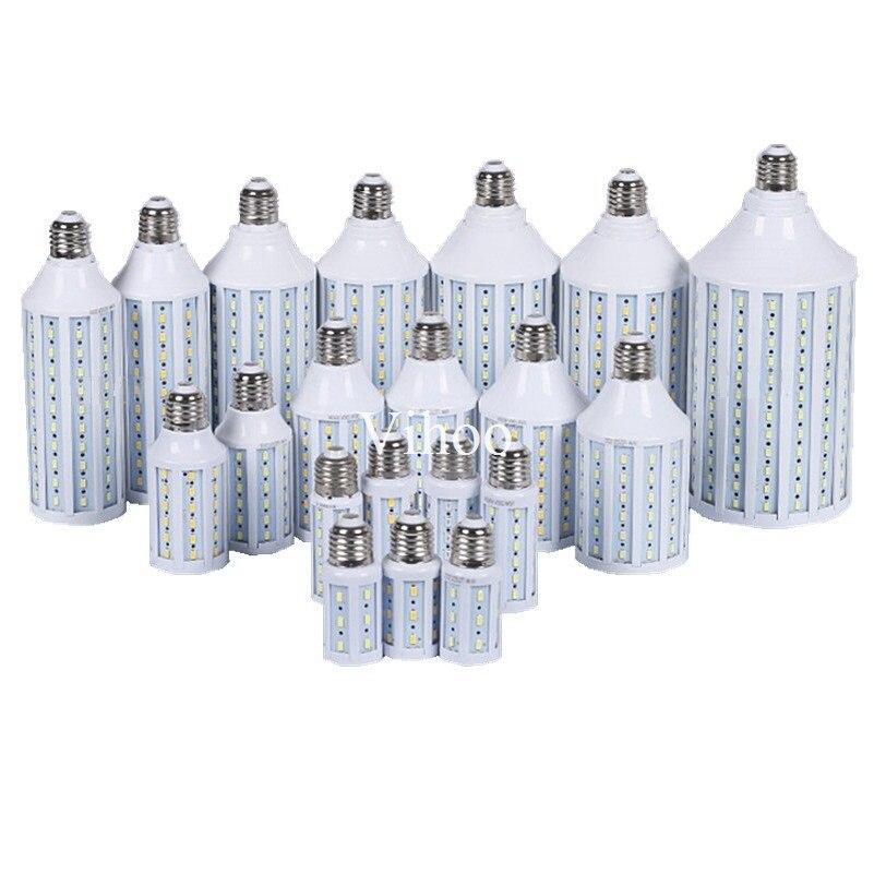 7W 12W 15W 25W 30W 40W 50W 60W 80W 100W E27 E40 B22 AC85-265V 5730 LED Corn Bulb Droplight 360 Degree Light&lighting Indoor Lamp