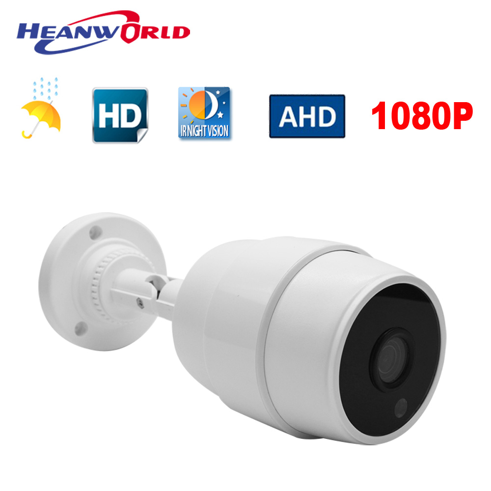 AHD Camera 1080P Outdoor 2MP Surveillance CCTV Camera Waterproof Full HD Video IR Night Vision Cam Hot Sale High-quality 4 in 1 ir high speed dome camera ahd tvi cvi cvbs 1080p output ir night vision 150m ptz dome camera with wiper