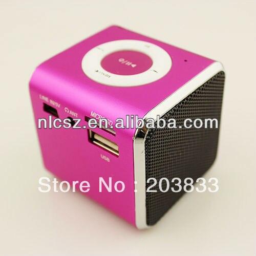 New Mini TF Micro SD FM Radio Audio Stereo Speaker Player