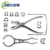12PCS/Set Teeth Care Dental Dam Perforator Hole Rubber Puncher Set For Dental Lab Free Shipping