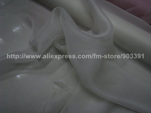 Wholesale Organza  Fabric Material for Ladies Silk Dress Skirt Blouse C1944