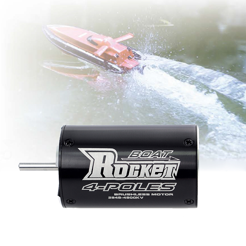 Image 2 - SURPASSHOBBY Rocket 2948 3450KV 4800KV 4 Poles Brushless Waterproof Motor for Traxxas Blast Feilun FT011 600 800mm RC Boat Car-in Parts & Accessories from Toys & Hobbies