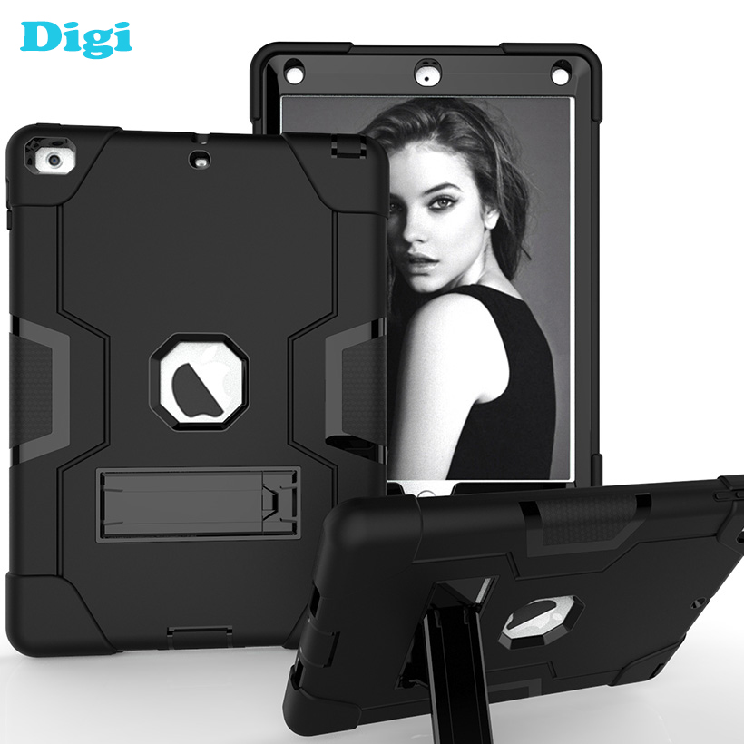 for iPad 2018 9 7 inch Tablet Case iPad 6th Generation 6 Gen Shockproof Armor Case
