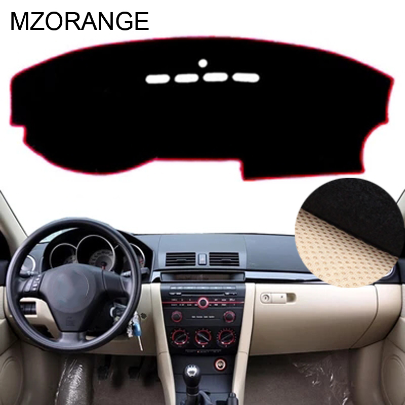 Dashboard Cover For Mazda 3 M3 BK 2004 2005 2006 2007 2008 Dashmat Dash Mat Sun Shade Dash Board Cover Carpet Non-slip Car Pad