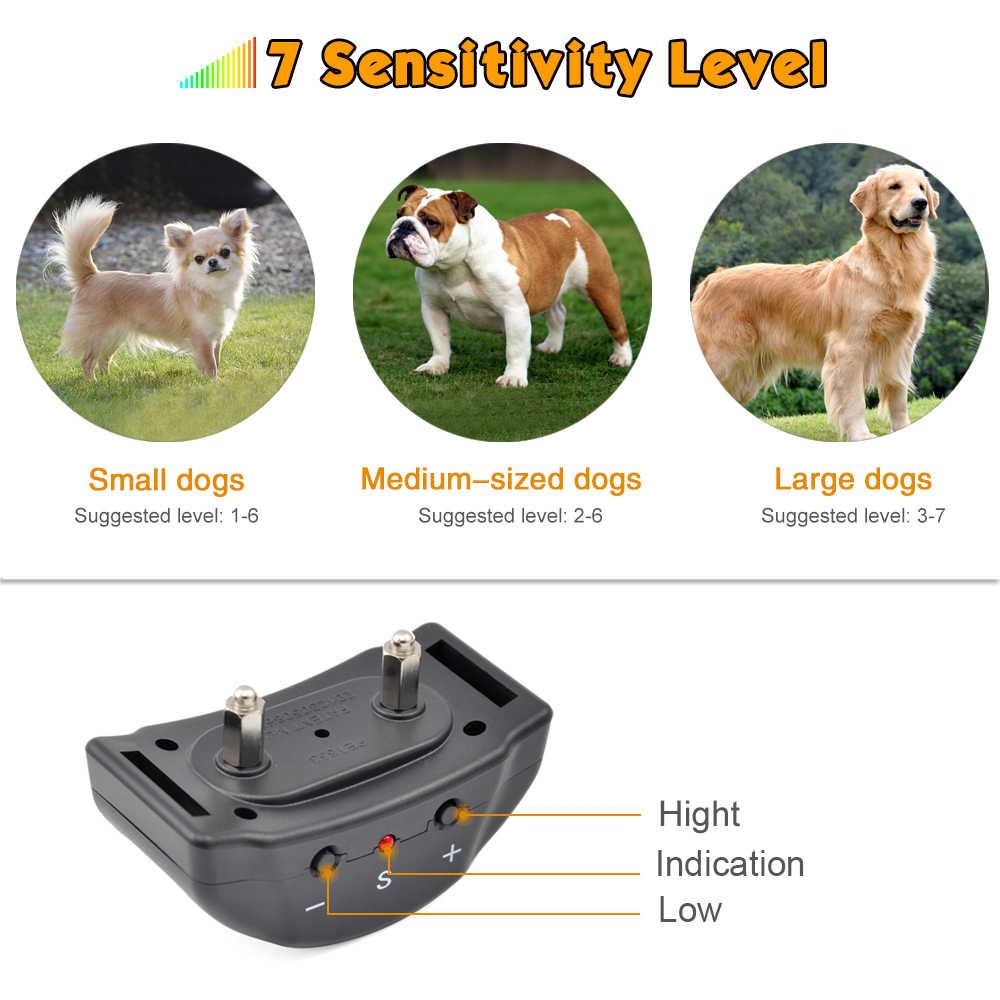 Ошейник для дрессировки собак Petrainer 853, ошейник с электрическим током, автоматический Регулируемый ошейник для дрессировки домашних животных
