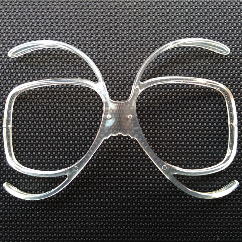 LOCLE Ski Goggles Glasses Myopia Frame Skiing Snowboard Goggles Myopia Lens Frame Sunglasses Adapter Myopia Inline Frame