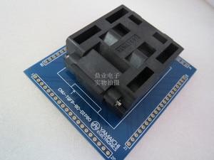 Image 5 - QFP80 TQFP80 QFP11T080 005 gniazdo do wypalania złota powlekania galwanicznego produktów płaskich IC badania QFP80 0.65mm 12*12mm + 14*14mm gniazdo testowe stanowisku do badań