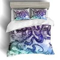 3D Постельное белье элегантный Осьминог и Осьминог ноги постельное белье одеяло покрывает Постельное белье