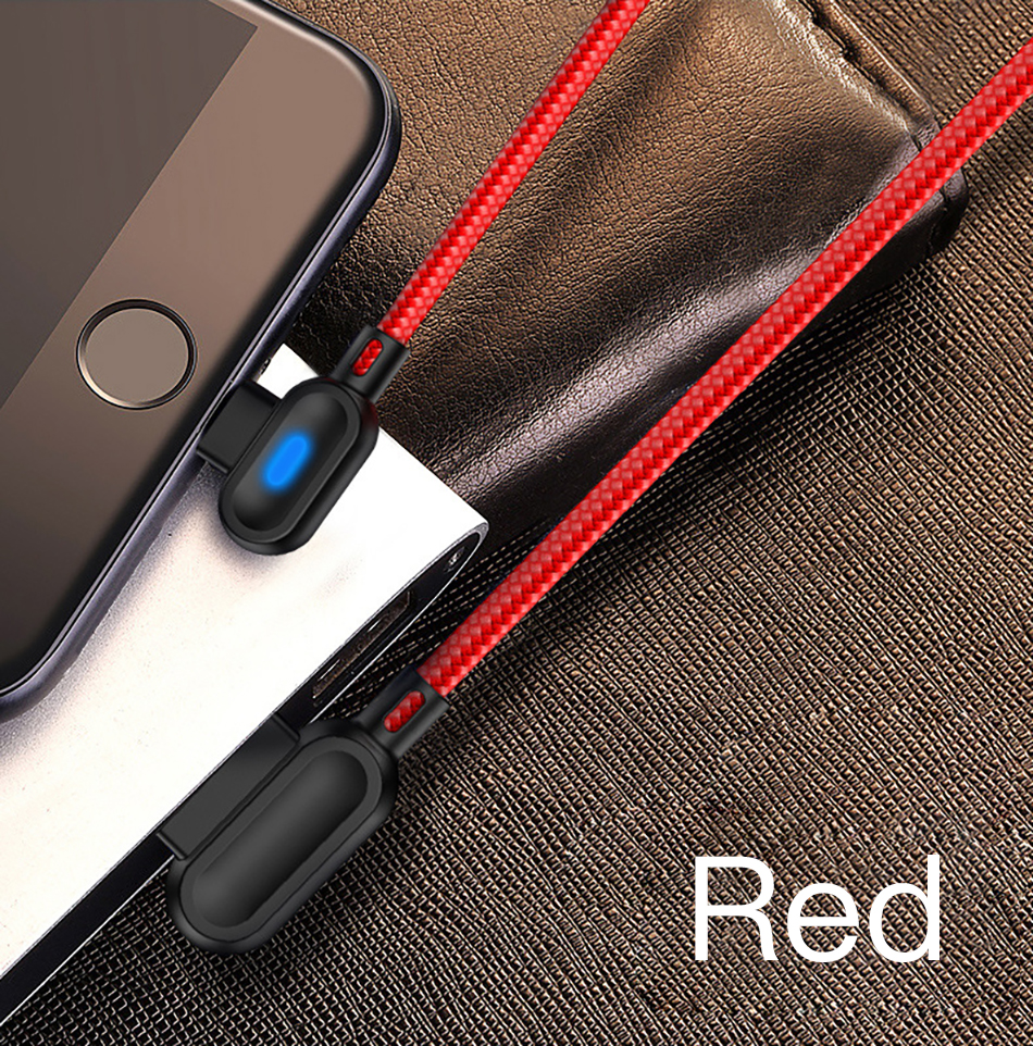 !ACCEZZ 90 Degree Micro USB Cable Fast Charging For Xiaomi Redmi Note 5 Pro Samsung S6 S7 Huawei Tablet Android Data Sync Cables (9)