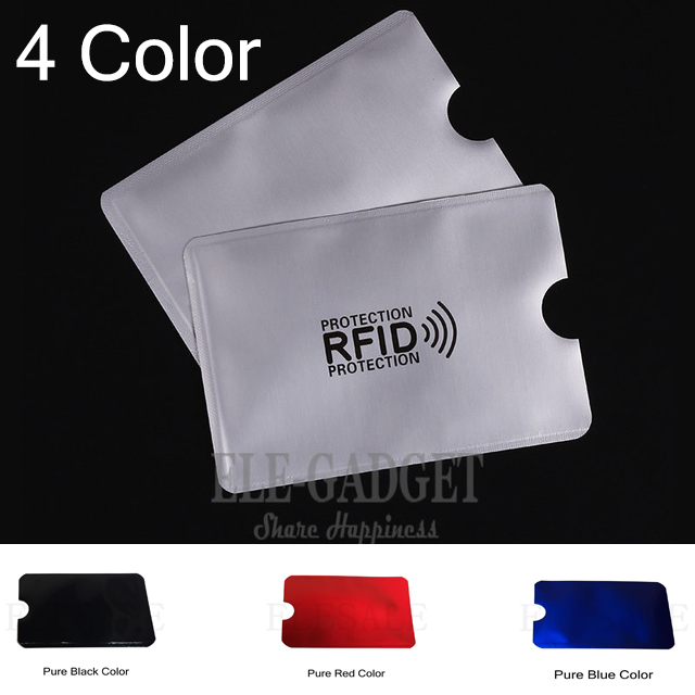 Best buy ) }}4/Color 10/Pcs Cedit Card RFID Card Sleeve Protector Anti Scan