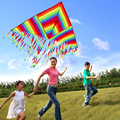 2017 New Style Sport Portable 1.4M Flying Kite Outdoor Sports Toys For Children