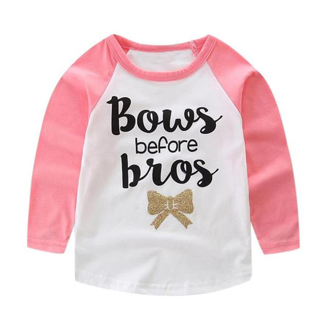 Cute Baby's Long Sleeve T-Shirts