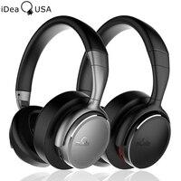 IDeaUSA V203 CVC 6 0 Noise Cancelling Headphones Foldable Over Ear Bluetooth Headphone AptX HiFi Sound