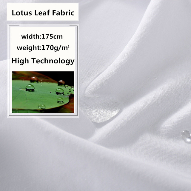 RUBIHOME New Arrival 100x175cm High Technology Fabric Cloth for Men T-Shirt  Waterproof Oil-proof Anti-Dirty Quick Dry Creative