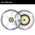 High quality carbon disc wheel 700c clincher road bike front five spoke rear disc track wheelset clincher