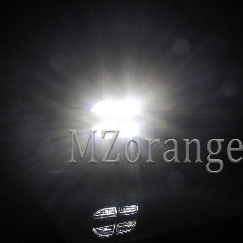 MZORANGE 2 pièces pour Kia sportage KX5 2019 feux diurnes DRL LED feux de jour avant pare chocs tête antibrouillard blanc voiture style - 6