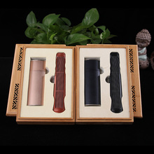 Aloes and sandalwood incense gift box two pieces of bamboo gift box zither, packed gift set incense road marvis black box gift set