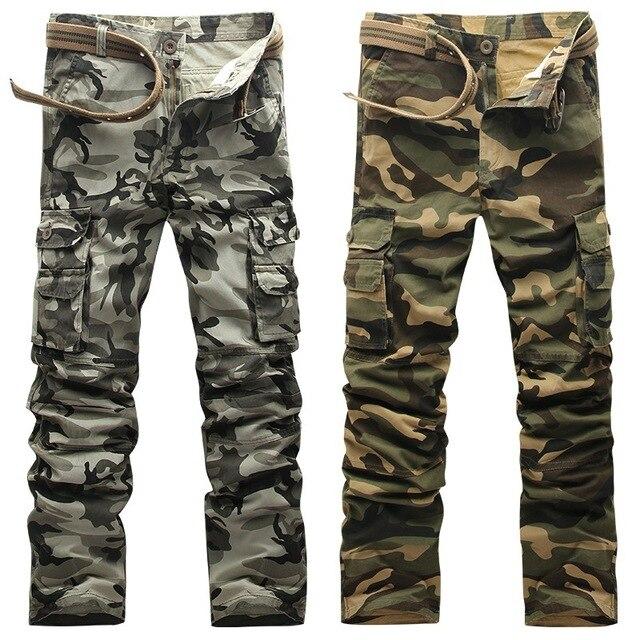City Tactical Cargo Pants Men Combat SWAT Army Military Cotton Many Tactical Pants Male Camo Jogger Casual Men's Cargo Pants Cot 1