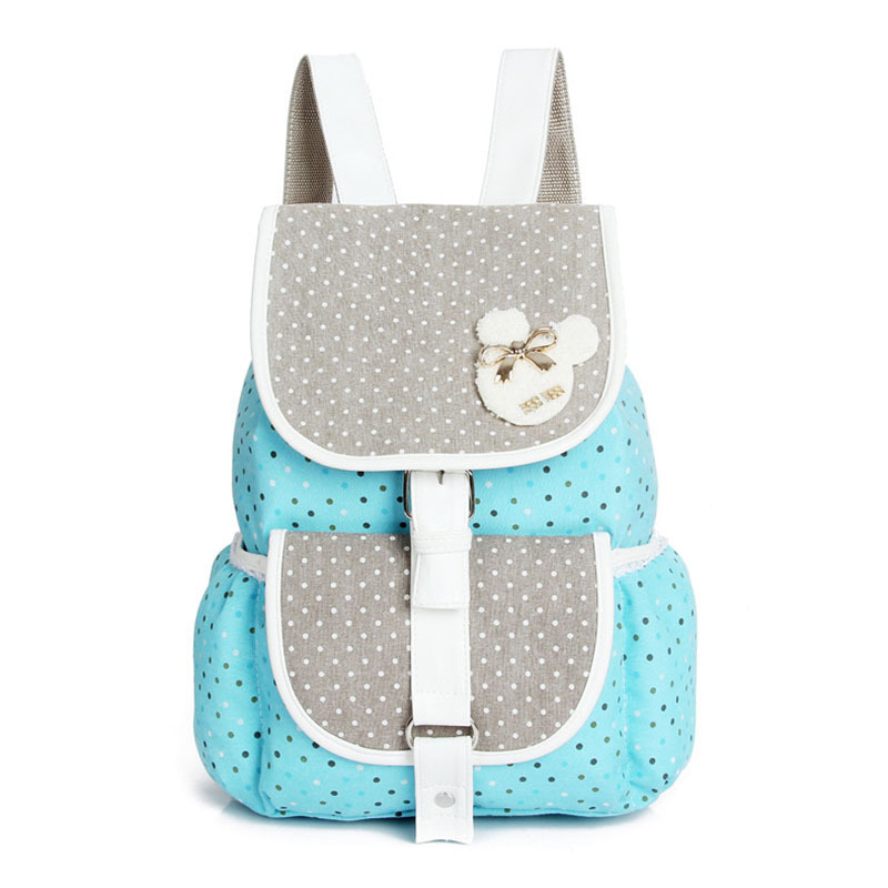 Aliexpress.com : Buy Cute Korean Style Double Shoulder Book Bags ...