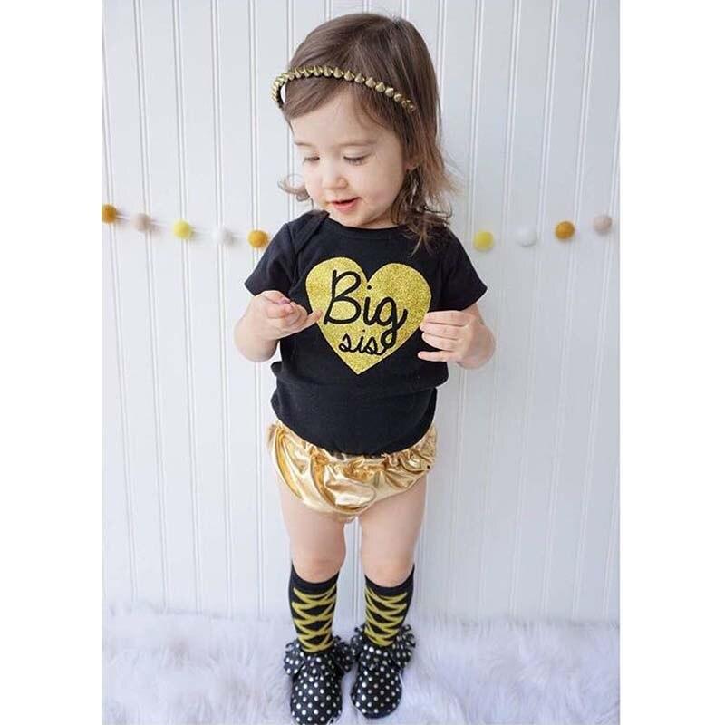 2016 Summer new coming black t-shirt+short pants suit beby clothes baby clothing set children vestidos ropa de bebe - Brown Bear store