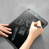 Etmakit Good Sale 12Inch Digital Tablet Portable Mini LCD Writing Screen Tablet Drawing Board Stylus Pen