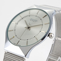 Top Brand Julius Women Watches Ultra Thin Stainless Steel Band Analog Display Quartz Watch Luxury Wristwatches