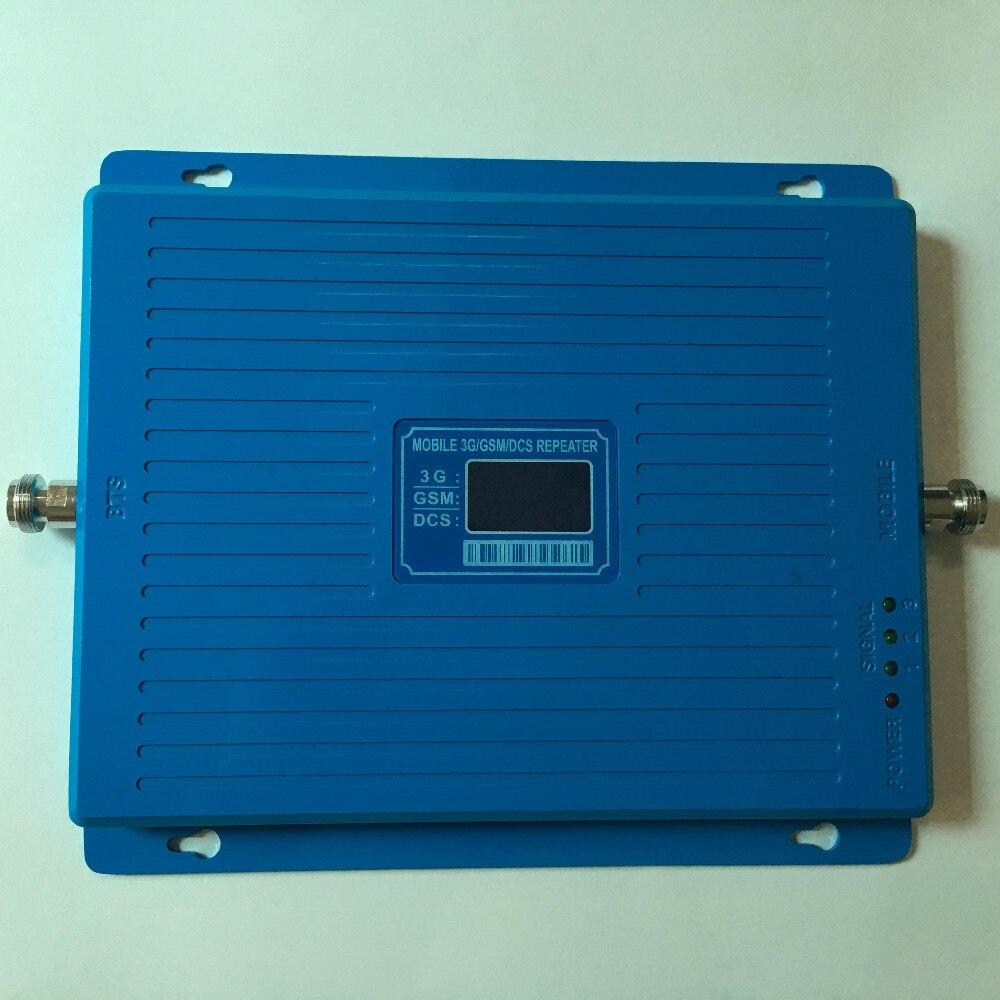 Amplificateur cellulaire de Signal de répétiteur de la bande GSM 900 mhz DCS 1800 mhz WCDMA 3G 2100 mhz amplificateur UMTS 2G 3G 4G LTE 1800 mhz - 2