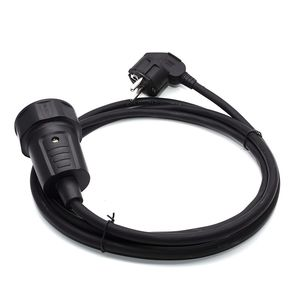 Image 3 - 250V 16A European/German standard socket and plug power line, Schuko CEE Power Extension cord