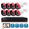 SUNCHAN HD 1 3MP 1500TVL Outdoor CCTV Surveillance System 8CH 720P 1080P HDMI AHDM DVR 960H