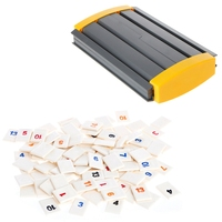 2017 The Original Digital Board Game Israel Mahjong Rummikub 106 Tiles Family Travel APR28_17