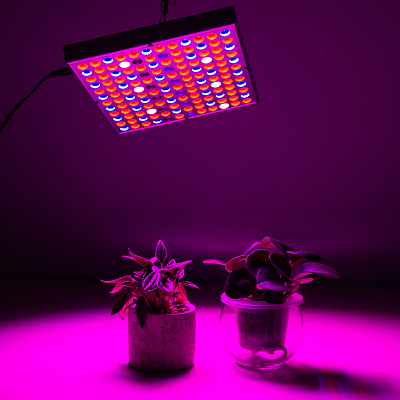 Full Spectrum LED Grow Light 45W 144leds Plant Grow Light AC85-265V UV IR lamp Panel For Greenhouse Plants Indoor Growth EU Plug led induction grow light 20w ac85 265v flood lamp for greenhouse plants flowers hydroponic systems free shipping