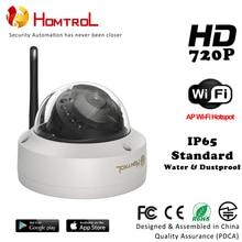 """Câmera do IP Da abóbada 1/4 """"1.0MP Onvif interior Trabalhar Para O Escritório, Supermercado, Casa, hotel 720 p Mini Câmera Dome IP CCTV Camera"""