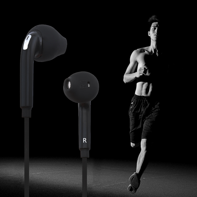 MENGYU Sport Headset with Mic 3.5mm In-Ear Wired Earphone Earbuds Stereo Headphones Universal for Xiaomi iPhone Wired Earphones