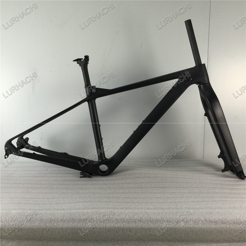 2016 New T800 MTB Carbon Frame 27.5er Mountain Carbon Frame With Quick Release/Thru Axle Carbon Mountain Bicycle Frame 142*12 gub 116 titanium axle safety quick release mountain bike bicycle use al6061 t6 tc4 light weight quick dismantling mtb