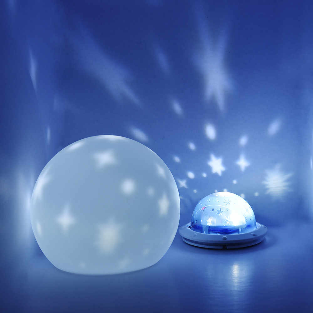 USB разнообразие Звезда проектор лампа силиконовый ночник красочная атмосфера свет